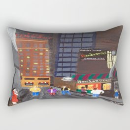 Rendezvous Alley, Memphis Rectangular Pillow