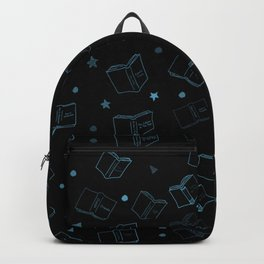 Classic Books Invert Blue Backpack