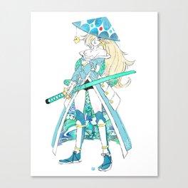 Samurai Rosalina Canvas Print