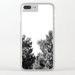 treetops Clear iPhone Case