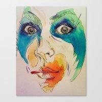 artpop Canvas Prints featuring artpop by AnnaToman
