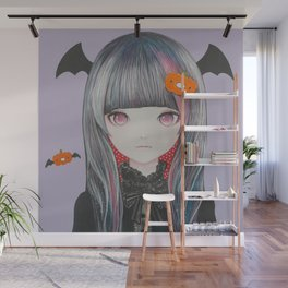 Pumpkin Nightmare Wall Mural