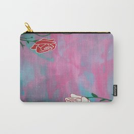 2 Roses Carry-All Pouch