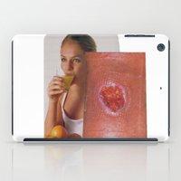 health iPad Cases featuring Health and Dwellness  by Jordan Clark