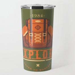 Explore - Backpack Travel Mug