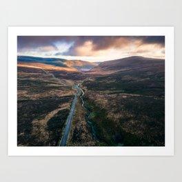 Ireland - Wicklow Mountains (RR369) Art Print