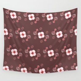 Floral Spores Wall Tapestry