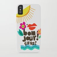 bonjour iPhone & iPod Cases featuring Bonjour! by Daily Thoughts