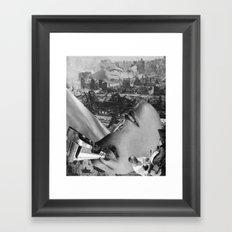 second upheaval Framed Art Print