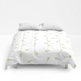 Leek Leek Leek Comforters