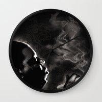 aaliyah Wall Clocks featuring Dreams by Joshua Skerritt