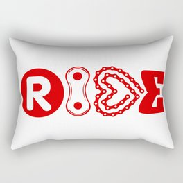 RIDE #biking#MTB Rectangular Pillow
