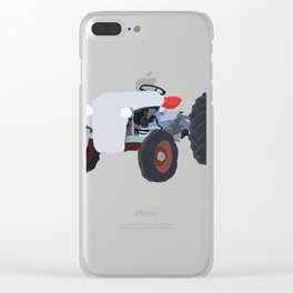 Grandpa's Tractor Clear iPhone Case
