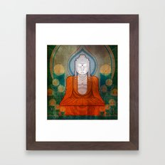 My Buddy Buddha Framed Art Print