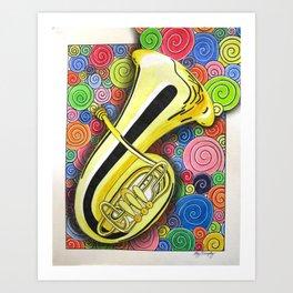 burst of music Art Print