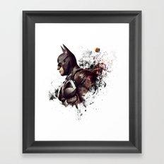 bat Framed Art Print