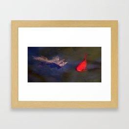 Bright Fish Framed Art Print