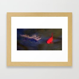 Bright Fish Framed Art Print