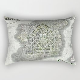 Window into Eire Rectangular Pillow
