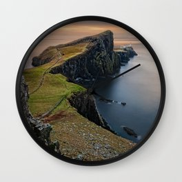 Scotland Panorama Wall Clock