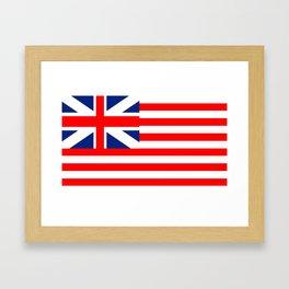Authentic Original American Flag Framed Art Print