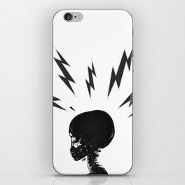 Brain Zaps - White iPhone Skin