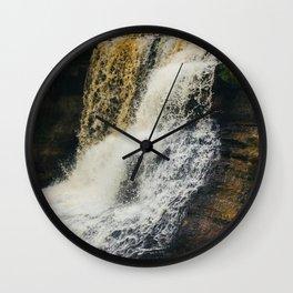 Laughing Whitefish Wall Clock