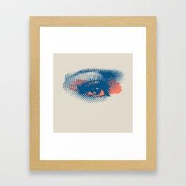 Heaven Is In Your Eyes Framed Art Print