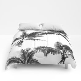 Palm Trees from Below Comforters