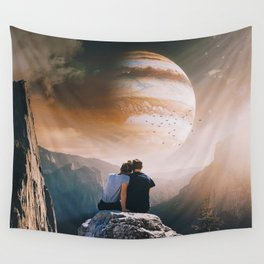 A Weird Planet Wall Tapestry