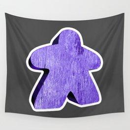 Giant Purple Meeple Wall Tapestry