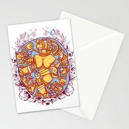 Inca design - Mayan Pinup Simbols Stationery Cards