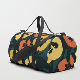 Midnight Flowers Duffle Bag