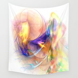 Existing in Thought Wall Tapestry