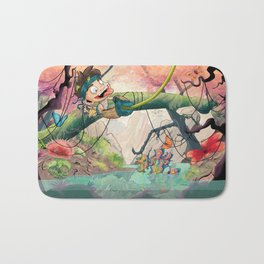 Jungle kid. Bath Mat