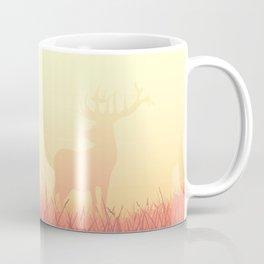 sunset in the meadow Coffee Mug