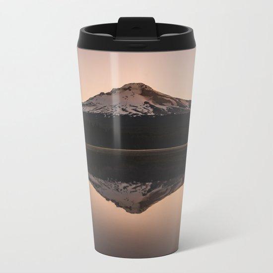 Oregon Mountain Adventure Metal Travel Mug