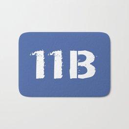 11B Infantryman (Blue) Bath Mat