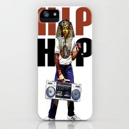 Hip Hop Pharoah iPhone Case