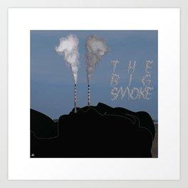 The Big Smoke - Dublin Art Print