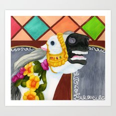 Carousel Horse - Sadie Art Print