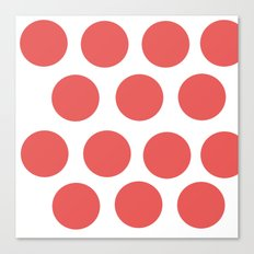 CirclePink Canvas Print