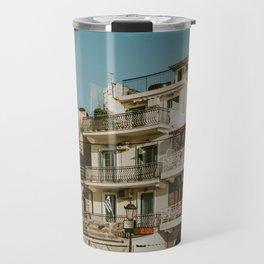 The roofs of Zakynthos Travel Mug