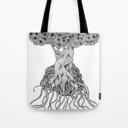 we're made from trees Tote Bag