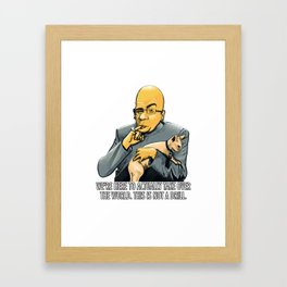 Tauhain sticker Devil Framed Art Print