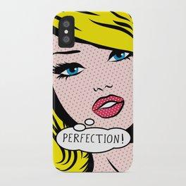 Perfection Pop Art Girl iPhone Case