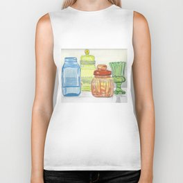Colored Glass Biker Tank