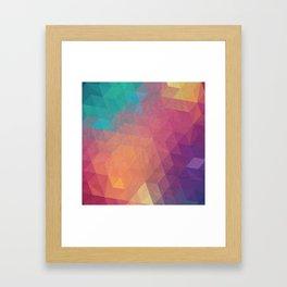 Geometric art Framed Art Print