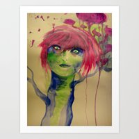 In the other world Art Print