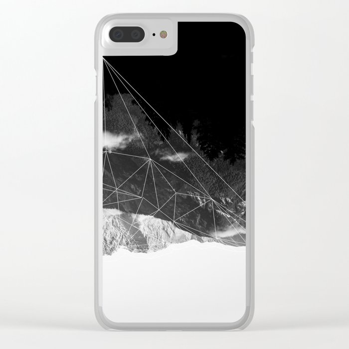 Crystal Mountain Clear iPhone Case